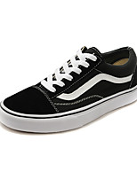 Vans Classics Old Skool Men's Shoes Canvas Outdoor / Athletic / Casual Sneakers Flat Heel Black and White