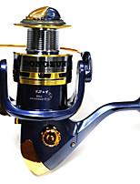 Molinetes Rotativos 5.2/1 12 Rolamentos Trocável Isco de Arremesso / Pesca Geral-SF4000 Dongzun