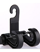 Double Hook 80g New Module Compartment Car Hook Hook Black Plastic Bags Inside The Car Supplies
