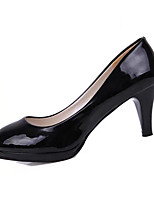 Women's Shoes Patent Leather Summer Heels Heels Casual Stiletto Heel Others Black / White / Almond