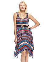 Heart Soul® Women's Strap Sleeveless Asymmetrical Dress-12AA13293