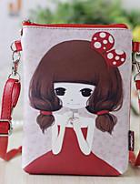 Women-Professioanl Use-PU-Mobile Phone Bag-Pink / Purple / Blue / Red