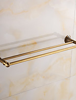 Towel Bar / Brushed / Wall Mounted /60*15*10 /Brass /Antique /60 15 0.818