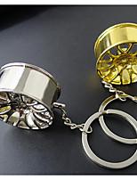 criativa roda a chave do carro modificado pingente anel de metal modificado anel chave afluxo de pessoas encalhado pequenos presentes