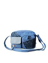 Flower Princess® Women Canvas Shoulder Bag Blue-A2014XK