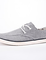 Men's Shoes Denim Outdoor / Office & Career / Casual Flats Outdoor / Office & Career / Casual Walking Flat Heel Lace-up