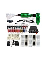 Hook Line Tattoo Machine + Audio Interface Kit Machinet(Set the Handle Random Hair Color)