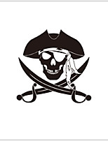Children's room wall stickers cartoon pirate Decorative  Wall Decal,vinyl Material Removable Home Decoration