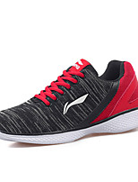 Men's Shoes Tulle Athletic Sneaker Flat Heel Lace-up Red / Orange EU39-43