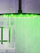 Monochrome LED Shower Nozzle Top Spray Shower Nozzle (Monochrome )(16  Inch)