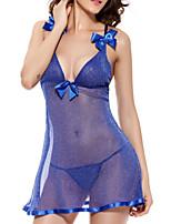 Women Babydoll & Slips Nightwear,Mesh