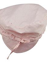 anti-statische staubfreien Hüte Hut, Mütze, antistatische antistatischen Kuli Hut rosa Krawatte Hut gestreift