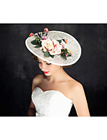 Women's Flax Headpiece-Special Occasion Fascinators 1 Piece Clear Irregular 30