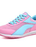Da donna-Sneakers / Ballerine-Tempo libero / Formale / Casual-Punta arrotondata-Piatto-Tulle-Blu / Rosa / Bianco / Grigio