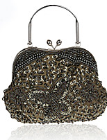 Women-Event/Party-Other Leather Type-Evening Bag-Pink / Purple / Green / Yellow / Gold / Red / Silver / Black