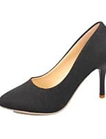 Women's Shoes PU Summer Heels Heels Casual Stiletto Heel Others Black / Yellow / Red / Gray