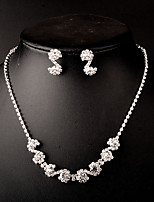 Women's Rhinestone Jewelry Set Rhinestone
