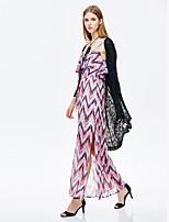 Heart Soul® Women's Round Neck 3/4 Length Sleeve Shirt & Blouse Black-11AA57345