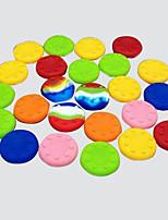 20 stuks cmpick PS2 / PS3 / PS4 xboxone / xbox360 rocker silicone cap knopdop handvat joystick hoed (willekeurige kleur)
