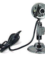 USB 2.0 HD Webcam 12m CMOS 1024x768 30fps con microfono