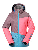 Gsousnow winter ski suit /windproof waterproof jackets/ Color matching female cotton-padded jacket