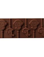 1 Horneando Ecológico / Herramienta para hornear Tarta / Pizza / Chocolate / Hielo / Pan / Pastel / Galleta / Cupcake SiliconaMoldes para