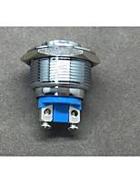 Industrial Supplies Waterproof Binding Post Screw Foot Self-Resetting Metal Button Switch