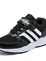 Boy's Sneakers Summer Flats Tulle Athletic Flat Heel Hook & Loop Black / Blue / Royal Blue