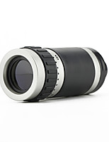 8x18 Monocular Telescope High Power Ultra Clear Can Connect Mobile Video And Photo -Black +Silver