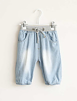 Boy's Casual/Daily Solid Pants / Shorts,Cotton Summer / Spring / Fall Blue