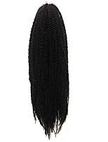 Senegal Tranças torção Extensões de cabelo 14inch Kanikalon 30 costa 80g grama Tranças de cabelo