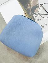 Bolsa de Ombro-Feminino-Formal-Couro Ecológico-Azul