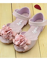 Girls' Shoes Outdoor Comfort Faux Leather Sandals Pink / White