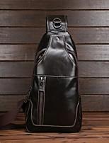 Men-Casual / Outdoor-Cowhide-Shoulder Bag-Brown