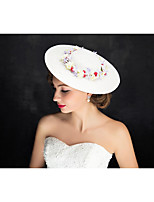 Women's Lace / Flax Headpiece-Special Occasion Fascinators 1 Piece Clear