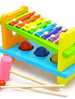 Children Knock The Ball Combined Steel Sheet 8 Scale On The Xylophone Piano Percussion Instrument Combination Toy Ball