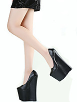 Women's Shoes 22CM Heel Height Sexy Round Toe Wedges Heel Pumps Party Shoes More Colors available