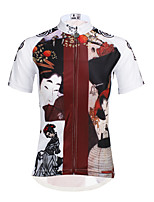 PaladinSport Woman  Short Sleeve Cycling Jersey DX644 Traditional Woman