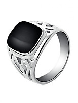 Ring Fashion Party / Daily / Casual Jewelry Alloy Men Band Rings 1pc,7 / 8 / 9 / 10 / 11 Gold / Silver