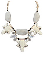 Elegant Atmosphere Stone Necklace Elegant Accessories