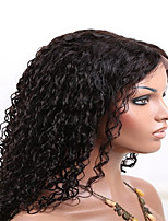 8-26 Inch 100% Human Hair Full Lace Wig 130% Density Afro Kinky Curly with Baby Hair