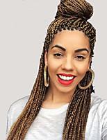 Gehäkelt / Havanna / Senegal / Box Zöpfe Twist Braids Haarverlängerungen 24Inch Kanekalon 12 Strand 90g Gramm Haar Borten