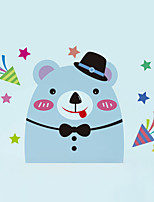 Wall Stickers Wall Decals Style Cute Cartoon Bear Switch PVC Wall Stickers