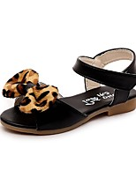 Girls' Shoes Libo New Style Hot Sale Outdoor / Evening / Casual Peep Toe Comfort Sandals Black / Brown