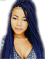 Havanna / Gehäkelt Twist Braids Haarverlängerungen 24Inch Kanekalon 12 Strand 90g Gramm Haar Borten