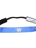 Laufsport Stirnbänder / Gürtel, Halter und Armbänder Weich Einstellbar Yoga / Badminton / Laufen Unisex Blau Leinwand