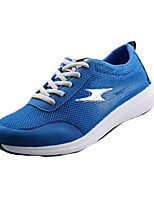Men's Shoes PU Outdoor / Casual Sneakers Outdoor / Casual Walking Flat Heel Others / Lace-up Black / Blue / Gray