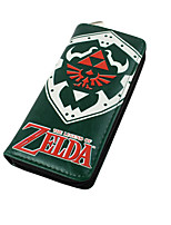 Cartoon The Legend of Zelda Long Zipper Wallet