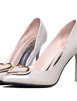 Homme-Mariage / Habillé / Soirée & Evénement-Noir / Rouge / Gris-Talon Aiguille-Talons-Chaussures à Talons-Similicuir