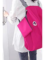 Women-Sports / Casual / Outdoor-Linen-Backpack-Blue / Fuchsia